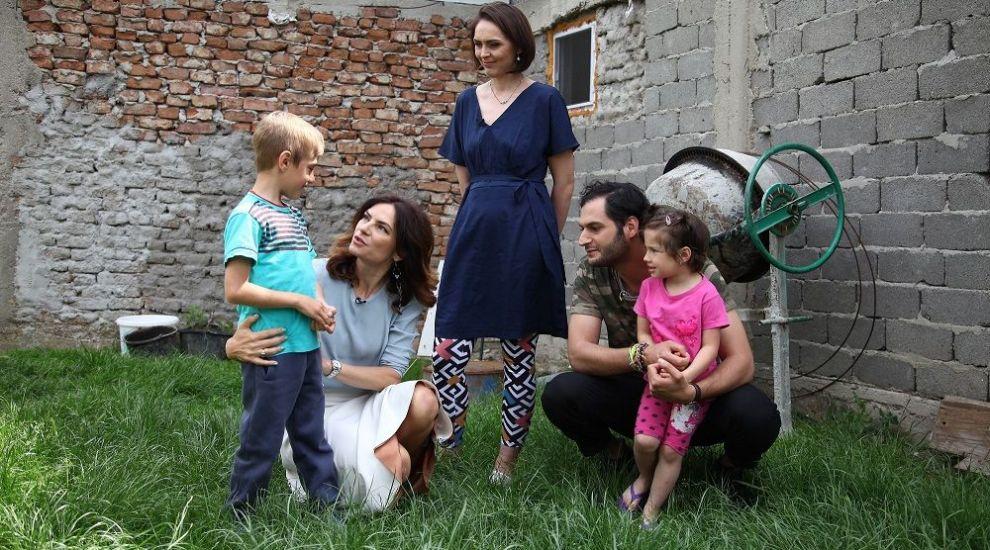 Echipa Visuri la cheie a dus mai departe visul lui Costi de a oferi familiei o locuinta perfecta