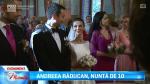 Andreea Raducan, nunta de 10