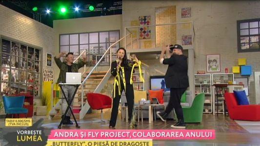 Andra si Fly Project, colaborarea anului
