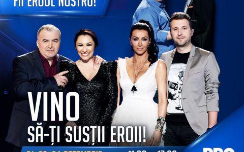 Spectacolul talentului autentic ajunge in Bucuresti!