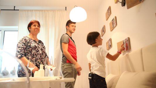 Echipa Visuri la cheie a adus fericirea pentru o mama cu doi copii care au fost greu incercati de viata