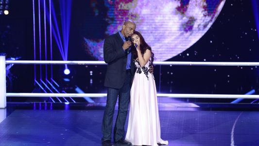 Vocea Romaniei - sezonul 6: Monica Andrei  Howard Dell – Somewhere Out There