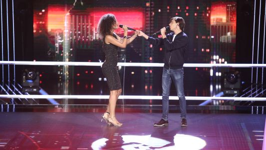 Vocea Romaniei - sezonul 6: Barbara Isasi  Mihai Olteanu – Like I'm Gonna Lose You