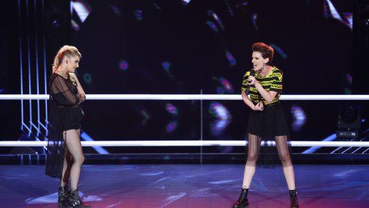 Vocea Romaniei - sezonul 6: Iuliana Dobre  Miruna Ionescu – Bad Girl