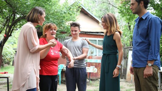 Echipa Visuri la cheie a construit de la 0 o casa pentru o familie greu incercata de viata
