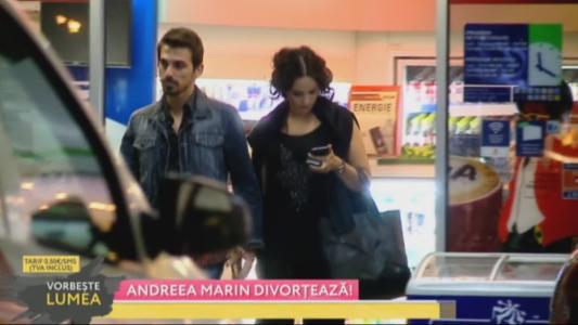 Andreea Marin divorteaza