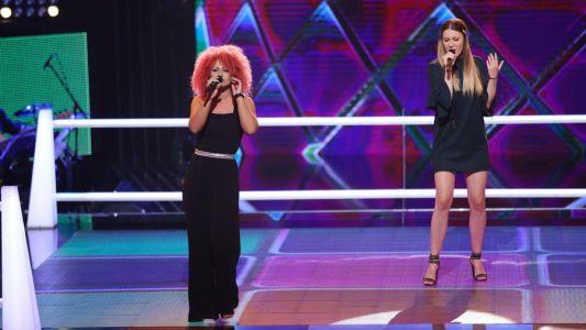 Vocea Romaniei - sezonul 6: Adelina Borsan  Eliza Avramescu - Ain't No Mountain High Enough