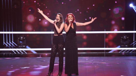 Vocea Romaniei - sezonul 6: Teodora Buciu & Camelia Crisan - Don't Rain on My Parade