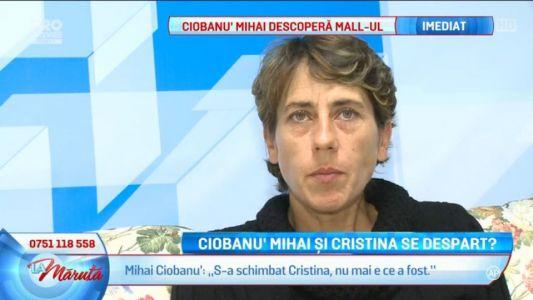 Ciobanu' Mihai si Cristina se despart?