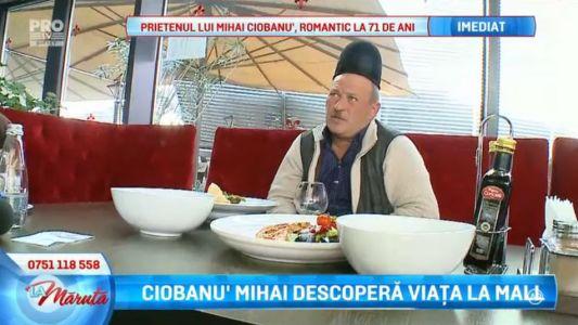 Ciobanu' Mihai descopera viata la mall