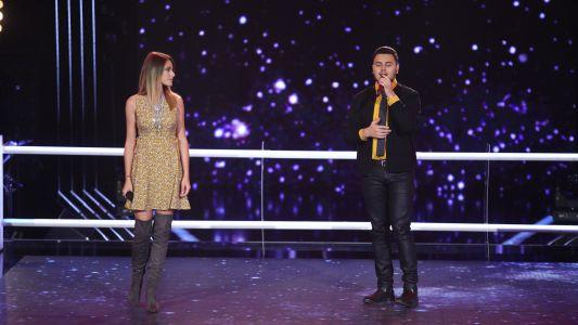 Vocea Romaniei - sezonul 6: Georgiana Agarici & Bogdan Teohari - Secret Love Song