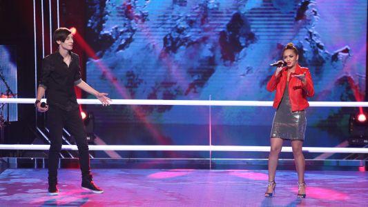 Vocea Romaniei - sezonul 6: Francesca Ilie & Serban Gabriel Radu - Bridge Over Troubled Water