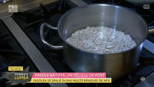 Fasolea batuta, un deliciu de post
