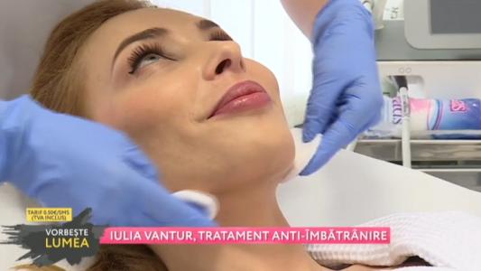 Iulia Vantur, tratament anti-imbatranire