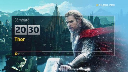 Thor, sambata, 12 noiembrie, de la 20:30