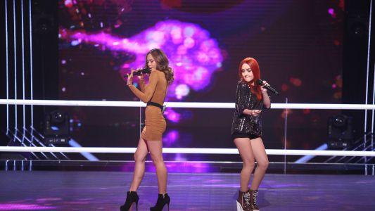 Vocea Romaniei - sezonul 6: Rose Marie Velasquez & Mihaela Chisnencu - Sugar