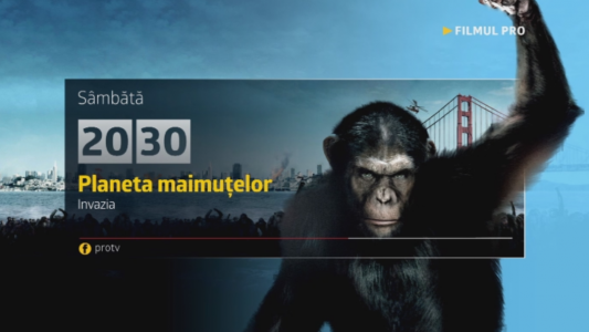 Planeta maimutelor, sambata, 19 noiembrie, numai la Pro TV