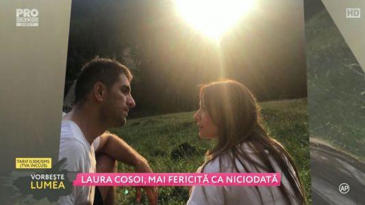 Laura Cosoi, mai fericita ca niciodata
