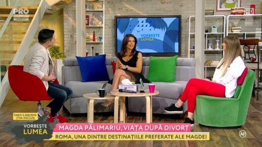 Magda Palimariu, viata dupa divort