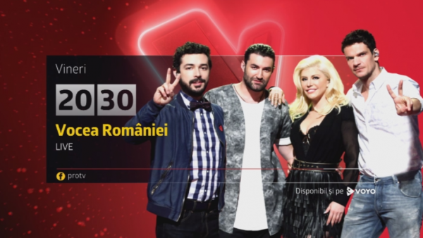 Incep bataliile LIVE. Voteaza vocile care conteaza. Vocea Romaniei, primul live vineri, de la 20:30 la Pro TV