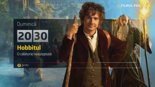Hobbitul, Duminica, 4 decembrie, de la 20:30, numai la ProTV