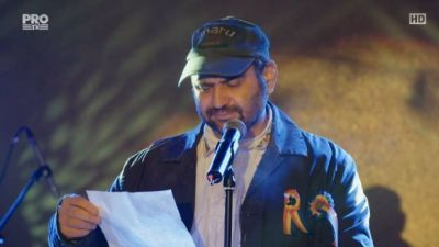 """Adrian Vancica, emotionat de reactia oamenilor la scrisoarea lui Celentano: """"Sunt coplesit"""""""