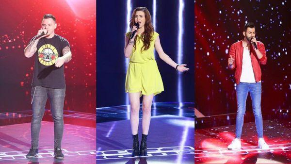 INTERVIU EXCLUSIV cu cei trei concurenti din Echipa Moga. Ce au declarat inainte de primul show LIVE Vocea Romaniei