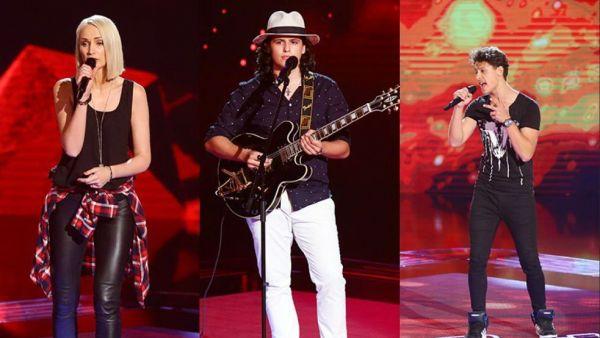 INTERVIU EXCLUSIV cu cei trei concurenti din Echipa Smiley. Ce au declarat inainte de primul show LIVE Vocea Romaniei