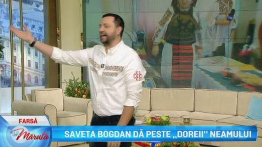 "Saveta Bogdan da peste ""Doreii"" neamului"