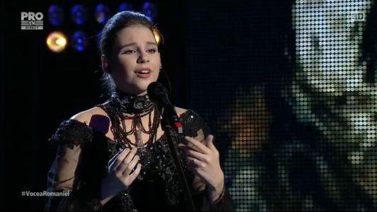 Vocea Romaniei - sezonul 6: Teodora Buciu - Lascia ch'io pianga