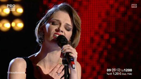 Vocea Romaniei - sezonul 6: Iuliana Dobre - Help