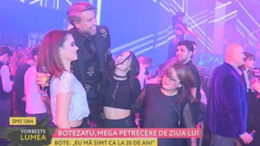 Botezatu, mega petrecere de ziua lui
