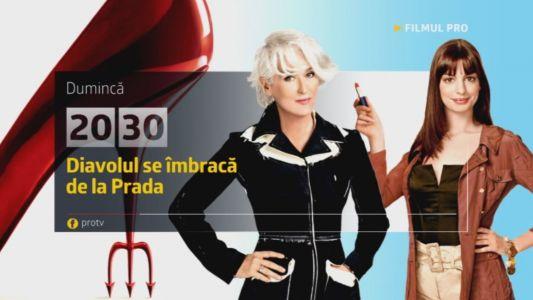 Diavolul se Imbraca de la Prada, 11 decembrie, de la 20:30, numai la ProTV