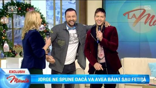 Jorge va avea baietel