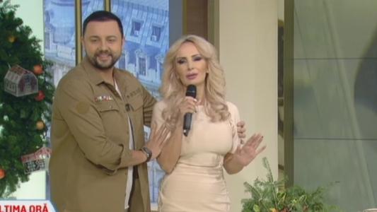 Daniela Gyorfi, aparitie de senzatie in platoul emisiunii La Maruta