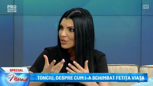 Andreea Tonciu, aparitie spectaculoasa