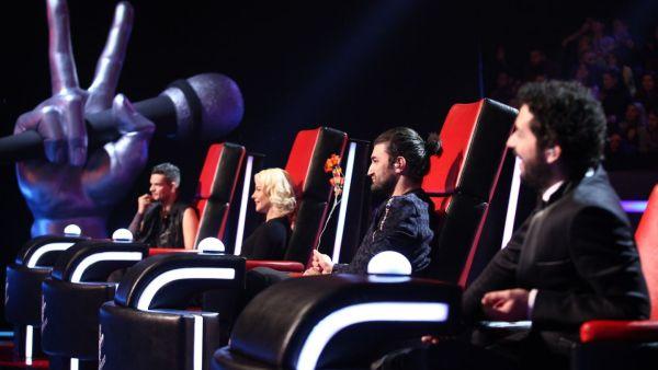 Tudor, Loredana, Smiley si Moga canta pe scena Vocea Romaniei in al doilea show LIVE, de la 20:30, la Pro TV