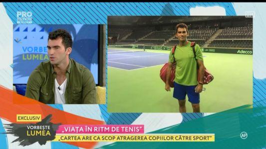 """Horia Tecau - """"Viata in ritm de tenis"""""""