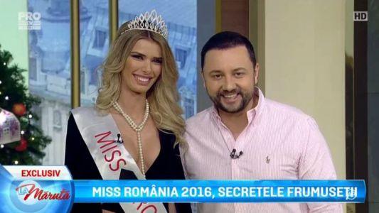 Miss Romania 2016, secretele frumusetii