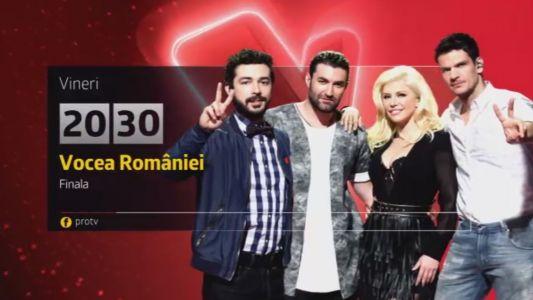 Patru concurenti intr-o finala cat toata Romania. Cel mai asteptat moment al sezonului. Doar vocea conteaza vineri, de la 20:30, la ProTV