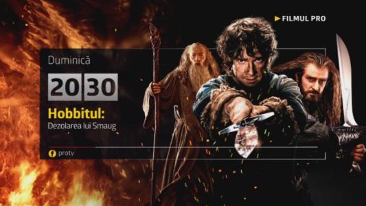 Hobbitul: Dezolarea lui Smaug , duminica, 18 decembrie
