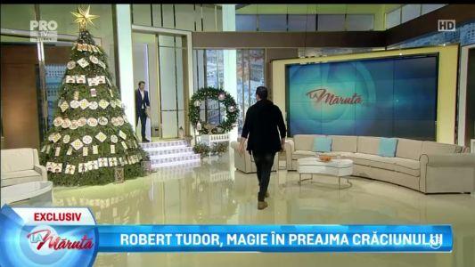 Robert Tudort, magie in preajma Craciunului