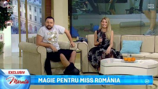 Magie pentru Miss Romania