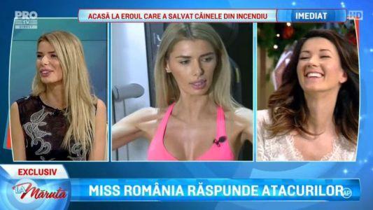 Miss Romania raspunde atacurilor