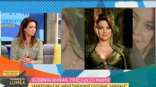 Eugenia Serban, Craciun cu mama