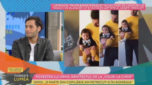 """Povestea lui Omid, arhitectul de la """"Visuri la cheie"""""""
