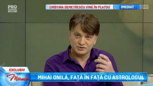 Mihai Onila, fata in fata cu astrologul