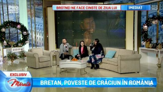 Laura Bretan, poveste de Craciun in Romania