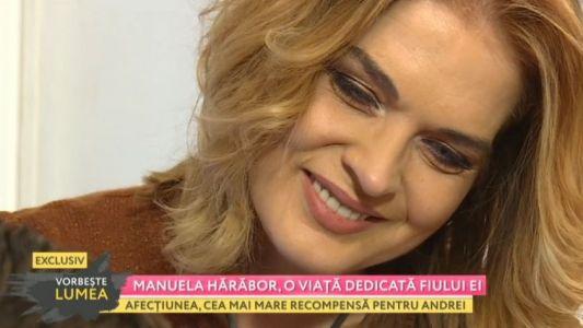 Manuela Harabor, o viata dedicata fiului ei
