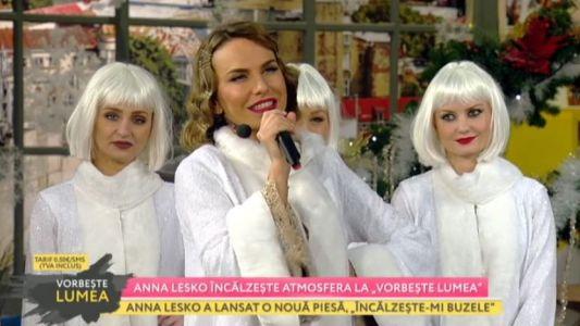 """Anna Lesko incalzeste atmosfera la """"Vorbeste Lumea"""""""